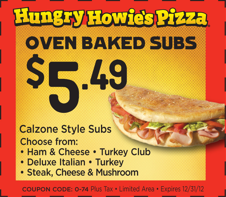 Hungry Howie's Flavored Crust® Pizza. Our pizzas are made from the finest ingredients, like % mozzarella cheese and dough made fresh daily.