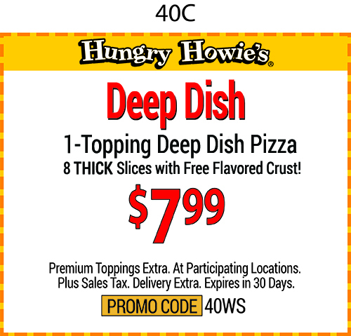 Hungry howies coupons florida