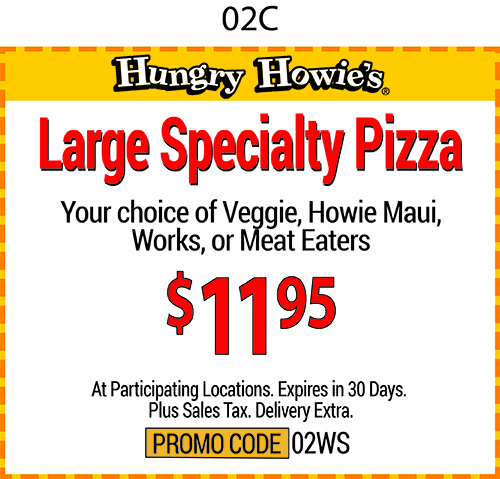 Hungry howie coupon codes