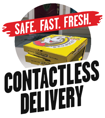Safe. Fast. Fresh. Contactless Delivery
