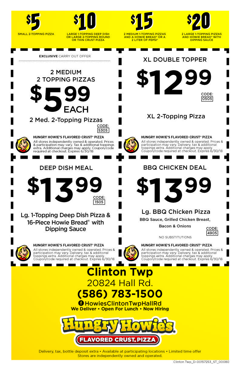 Clinton anderson store coupons