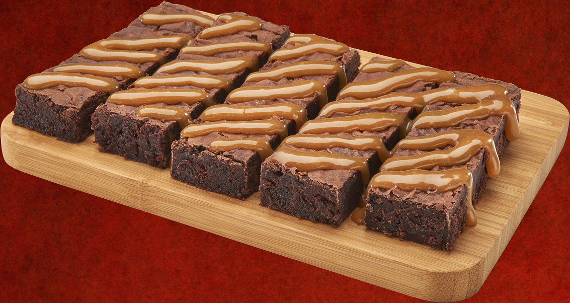 Salted Caramel Howie Brownie