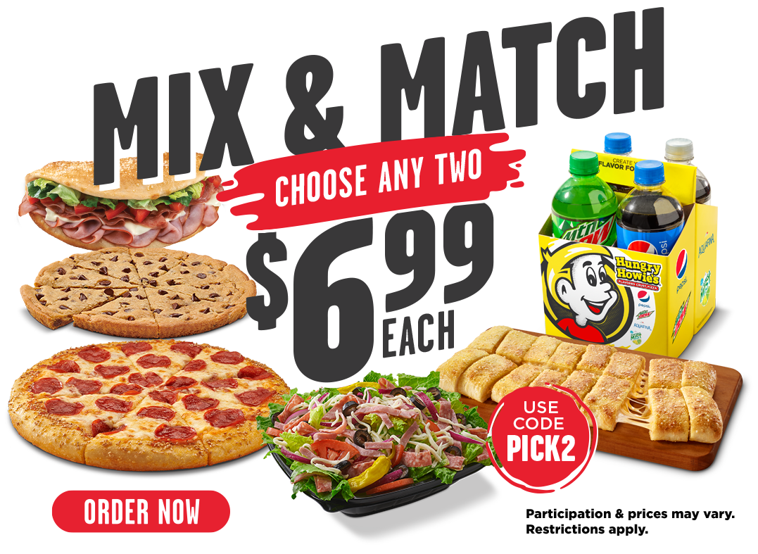 Mix & Match pick any 2 items for $6.99 each. Use promo code: PICK2