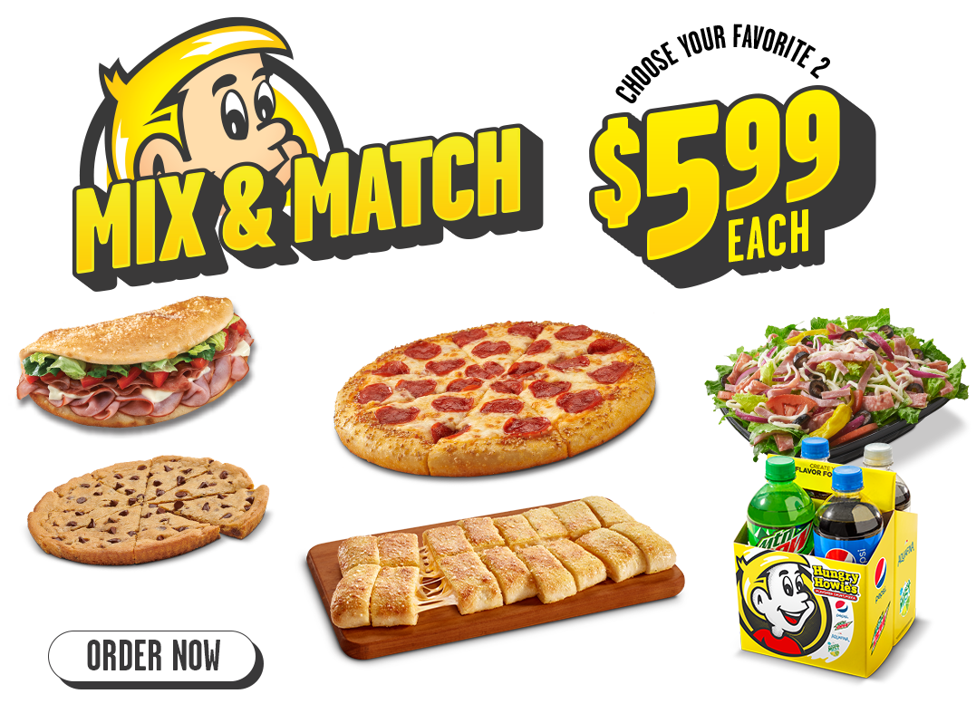 Mix and Match choose your favorite 2 $5.99 each.