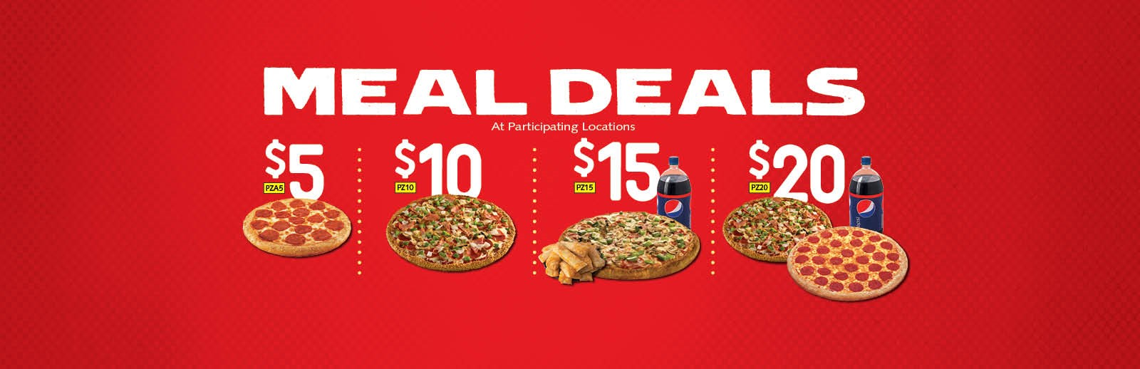 pizza deals, coupons and specials