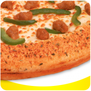 Garlic Herb Flavored Crust
